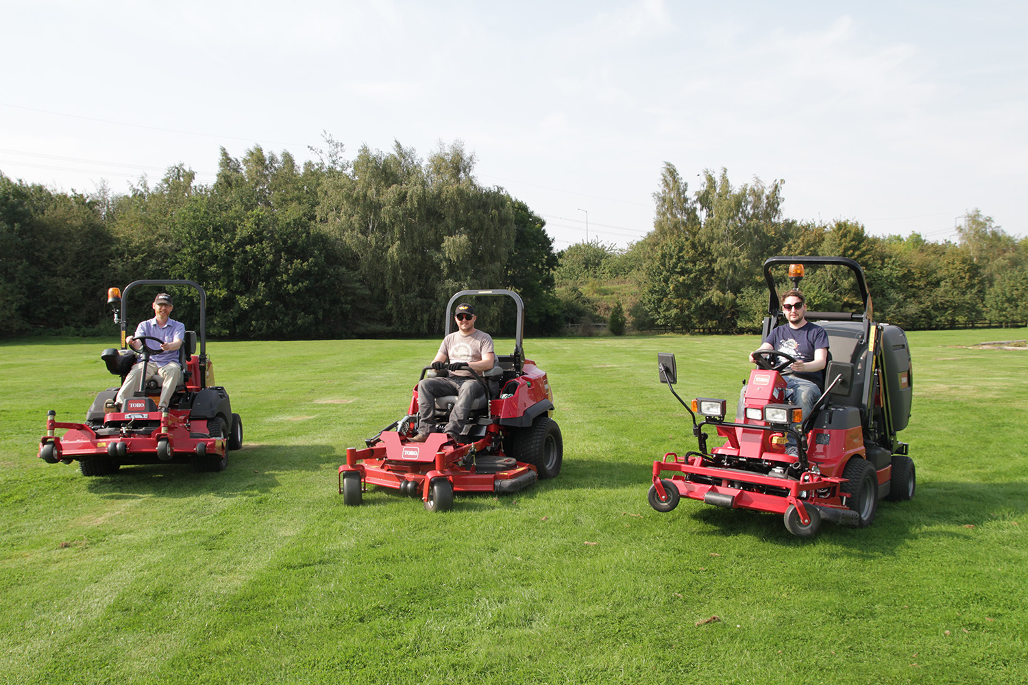 Lawnmower research